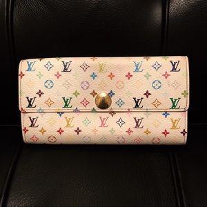 Louis Vuitton Multicolor Sarah Wallet On Chain
